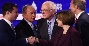 Estados unidos 2020, para los demócratas el último desafío de la tv antes del Super martes es muy importante: todos contra el favorecido Sanders