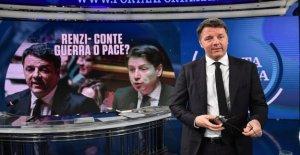 Gobierno, Renzi: Si Conte rechaza nuestras propuestas, Italia Vive un paso atrás