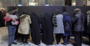 Irán, 58 millones de voto para los diputados, en el día de la alarma coronavirus: la baja participación de votantes