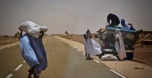 Mauritania, el desierto avanza sin descanso, y la gente está huyendo y buscando en la ciudad o una vida mejor en otro lugar