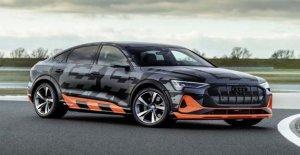 Nuevo Audi e-tron con tres motores eléctricos