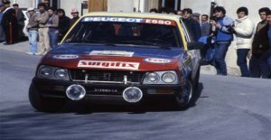 Peugeot 505 Turbo diesel, una sorpresa en el rally