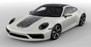 Porsche 911 con la huella dactilar