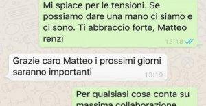 Renzi: Una Fuente sólo un mensaje corporativo, sin fondo o con el odio por el Conde