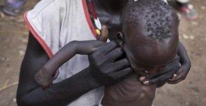 Sudán del sur, el hambre amenaza a más de la mitad de la población del País