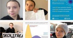 Coronavirus, Greta Thunberg en aislamiento autoimpuesto: tengo los síntomas de Covid-19