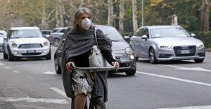 Sin el tráfico y con el bloque de caída entre el 5-7% de las emisiones de gases de efecto invernadero en los primeros tres meses