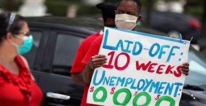 2.1 millones más de Estadounidenses archivo de las solicitudes de desempleo, trayendo coronavirus crisis total de 40 millones de