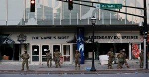 College Football Hall of Fame en Atlanta dañados, robados por los manifestantes: informe
