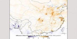 Como la de China coronavirus paradas final, los contaminantes del aire lugar a niveles tradicionales