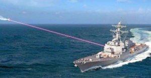 Destructor-se despidió de la Marina de los láseres de pronto destruir misiles de crucero de ataque