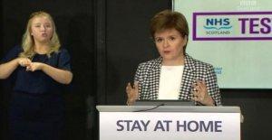 Escocés de prueba y de seguimiento plan para empezar el jueves