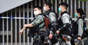 HK rampas de seguridad por delante de himno proyecto de ley de la lectura