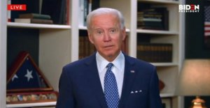 Joe Biden, usar mascarilla, visitas protesta sitio en Delaware