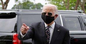 La Nota: Biden encuentra una voz con una máscara en