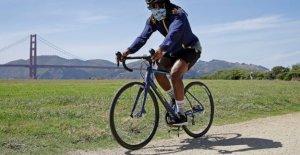 La pandemia de una gran ayuda para las bicicletas como miles ajustar hacia arriba