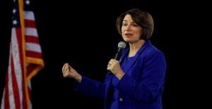 La senadora Klobuchar en el pasado como fiscal se cierne sobre la vice presidencia perspectivas
