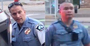 Los jefes de la policía a través de NOSOTROS condenar a los funcionarios que participan en George Floyd muerte