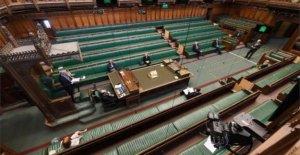 Los parlamentarios de la ansiedad sobre el regreso a virus 'hotspot'