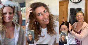 Los peluqueros dar virtual de citas en lockdown