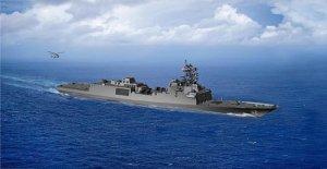 Marina construye 10 nuevos fuertemente armados fragata de buques de guerra