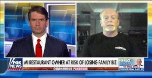 Michigan propietario de restaurante desafía Gob. Whitmer del orden en el último esfuerzo para salvar a la familia de negocio