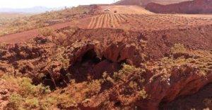 Minera lo siento por la destrucción de cuevas Aborígenes