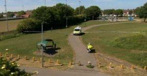 Muchacho, 9, atropellado por una moto en el parque