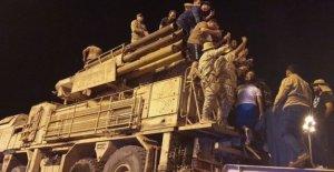 NOS dice que Rusia envió aviones a Libia 'los mercenarios'