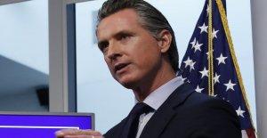 Partido REPUBLICANO de los grupos de sue California Gob. Newsom, reclamación de voto por correo orden es descarada apropiación del poder'