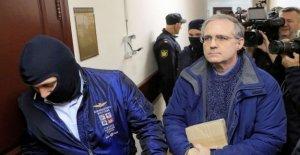Ruso fiscales buscar la condena de 18 años por el ex-Marine Whelan