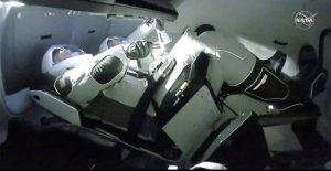 SpaceX histórico de encore: de que lleguen los Astronautas en la estación espacial