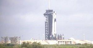 SpaceX y la NASA histórico lanzamiento fregados como resultado del clima
