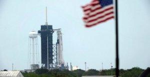 Tiempo tormentoso pone freno a SpaceX del 1 de astronauta lanzamiento