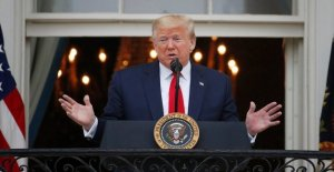 Trump dice que ya no tomo hydroxychloroquine