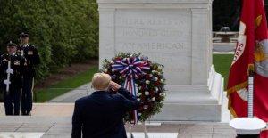 Trump honra guerreros caídos en el Día de los caídos ceremonias, asegura que somos los capitanes de nuestro propio destino'