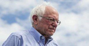 Actuales y anteriores Sanders personal de turno en cada uno de los otros en la campaña de secuelas