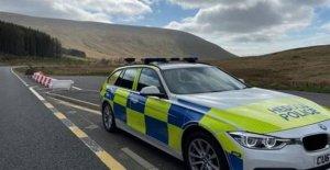 Agentes de la policía gire a la distancia de 1000 vehículos en dos días