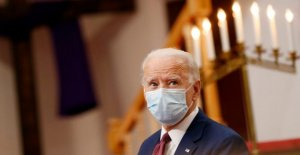 Biden se reúne con líderes de la comunidad en el estado de Delaware, enfrenta críticas por su apoyo a '94 crimen proyecto de ley