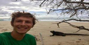 Coronavirus: Viajero varado en las islas Galápagos durante la pandemia de acciones única bloqueo de experiencia
