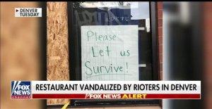 Denver tienda de ramen actos de vandalismo por los manifestantes justo antes de la fecha programada para la reapertura