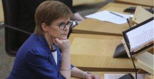 El esturión advierte que los Escoceses no encontrar en el interior