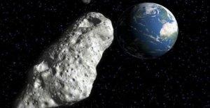 Estadio tamaño de un asteroide conjunto con whiz pasado de la Tierra, la NASA dice
