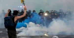 Fin de semana de protesta aumenta la cobertura de noticias por cable de audiencia