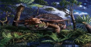 Increíble descubrimiento muestra 110M-año-viejo dinosaurio de la última comida en conserva