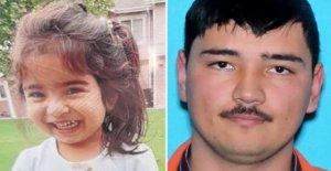 La Alerta Amber en Washington para niña, 3; suicida padre de ojos en el secuestro