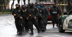 La Ciudad de méxico el jefe de policía...