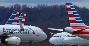 La aerolínea acciones se disparan como American, United vuelva a agregar los vuelos