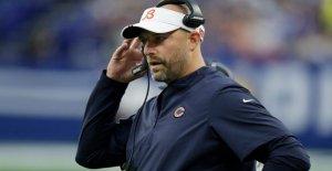 Los osos entrenador Matt Nagy dice protesta ACEPTAR si el equipo demuestra que se hará de 'juntos'