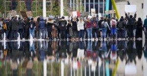 Miles unirse a George Floyd protesta en Birmingham